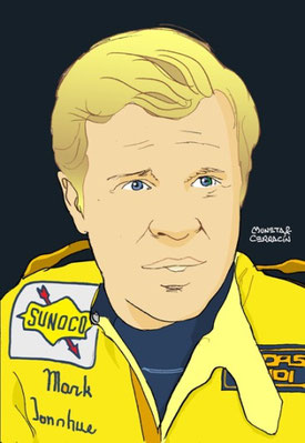 Mark Donohue by Muneta & Cerracín
