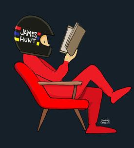 James Hunt by Muneta & Cerracín