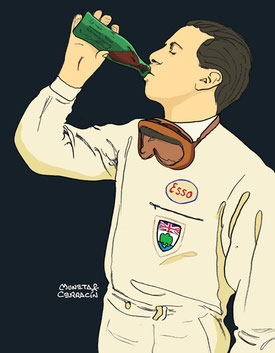 Jim Clark by Muneta & Cerracín