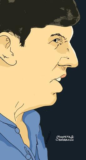 Ken Tyrrell by Muneta & Cerracín