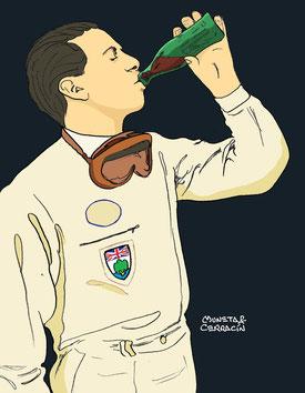 Jim Clark by Muneta & Cerracín