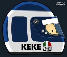Keke Rosberg by Muneta & Cerracín