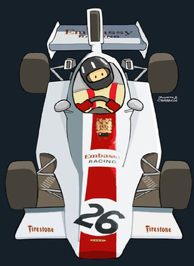 Graham Hill by Muneta & Cerracín