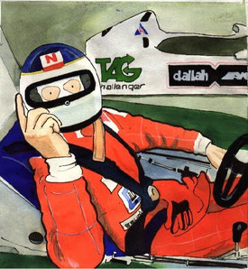 Carlos Reutemann by Muneta & Cerracín