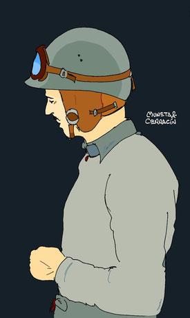 Maurice Trintignant  by Muneta & Cerracín