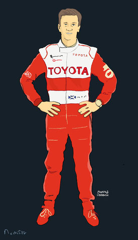 Allan McNish by Muneta & Cerracín