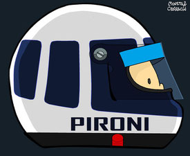 Didier Pironi by Muneta & Cerracín