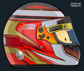 Helmet of Raffaele Marciello by Muneta & Cerracín