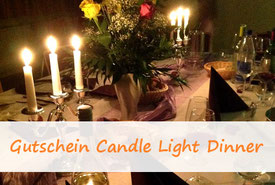 Candle light dinner gutschein olympiaturm