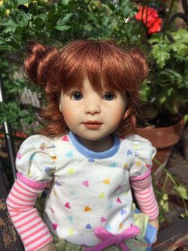 "Heidi Plusczok Linette 10.5"" doll"