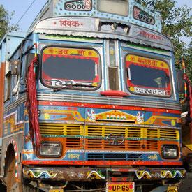 Auf dem Weg nach Neu Delhi