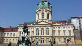 Schloss Charlottenburg, Ehrenhof