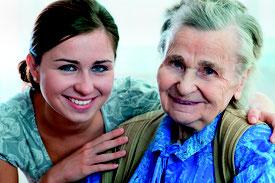 Symbolbild einer alten und einer jungen Frau