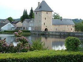 Près de la ferme des Ânes de Vassivière : Peyrat-le-Château