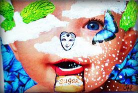 rhyming wisdom poetry collage tatsiana sweet sugar baby