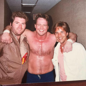 ©Michael Talbott mit Don Johnson und Rowdy Roddy Piper