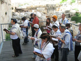 Гендерно-смешанная молитва консервативных иудеев