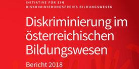 Initiative für ein diskriminierungsfreies Bildungswesen IDB - Jahresbericht 2018 Bild: scrst aus http://diskriminierungsfrei.at/jahresbericht-2018
