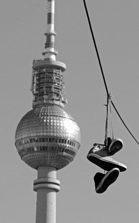 Shoefiti Berlin