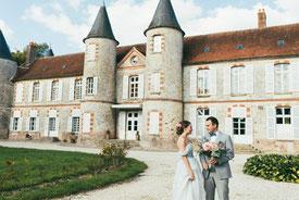 свадьба в замке Франции