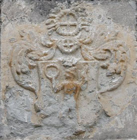 Wappen derer von Heynitz, Wunschwitz 2019