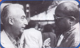 Roland Barthes (links) und Guy Cuevas– Von Jiemth (Eigenes Werk) [CC-BY-SA-3.0 (http://creativecommons.org/licenses/by-sa/3.0)], via Wikimedia Commons