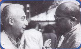 Roland Barthes (links) und Guy Cuevas– Von Jiemth (Eigenes Werk) [CC-BY-SA-3.0 (http://creativecommons.org/licenses/by-sa/3.0)], via Wikimedia Commons