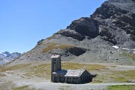 Die Iseran-Kapelle auf 2.770 Meter