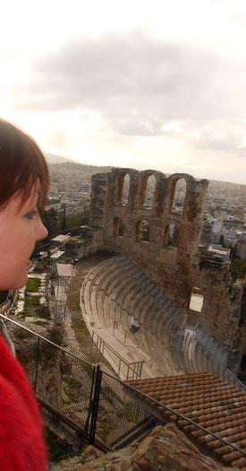 Греция. Афины.Селфи