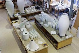 Atelier du grand-coulage à Sèvres - Cité de la céramique (c) Coyau CC-by-SA.