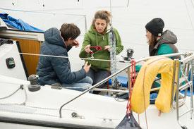 gruppenkurs segeln lernen segelschule