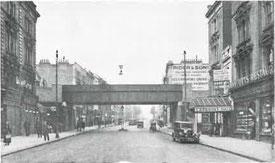 Vollverschweißte Blechträger-Eisenbahnbrücke von Henry W. Clark