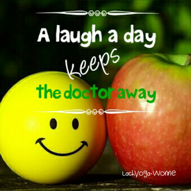 Lachyoga-Wonne _ A laugh a day keeps the doctor away