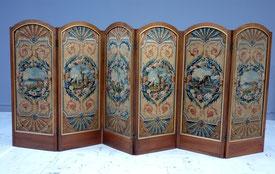 Paravent tapisserie d'Aubusson - Musée Boucher-de-Perthes Abbeville