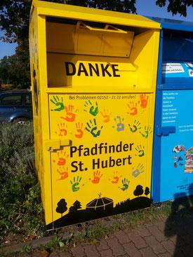 Unser Container auf der Stendener Straße