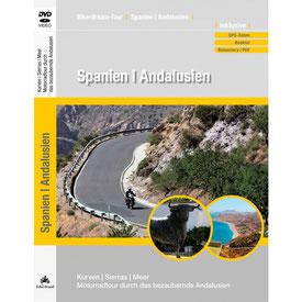 Motorradtour Andalusien DVD und GPS Daten für die eigene Tourplanung mit dem Motorrad