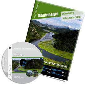 Motorradtour Montenegro DVD gedruckte Tourstory und GPS Daten für die eigene Tourplanung mit dem Motorrad