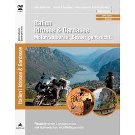 Motorradtour Idrosee und Gardasee DVD und GPS Daten für die eigene Tourplanung mit dem Motorrad