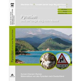 Motorradtour spanische Pyrenäen DVD und GPS Daten für die eigene Tourplanung mit dem Motorrad