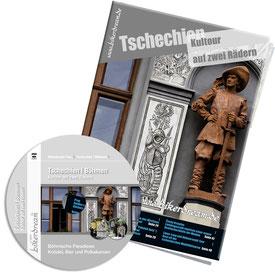 Motorradtour Tschechien DVD gedruckte Tourstory und GPS Daten für die eigene Tourplanung mit dem Motorrad