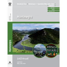 Motorradtour Montenegro DVD und GPS Daten für die eigene Tourplanung mit dem Motorrad