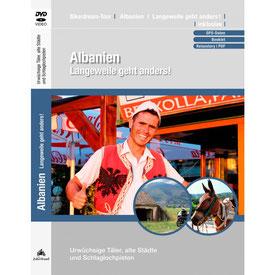 Motorradtour Albanien DVD und GPS Daten für die eigene Tourplanung mit dem Motorrad