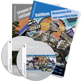 Motorradtour Baltikum  zwei DVD zwei gedruckte Tourstory und GPS Daten für die eigene Tourplanung mit dem Motorrad