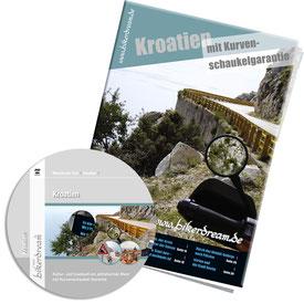 Motorradtour Kroatien DVD gedruckte Tourstory und GPS Daten für die eigene Tourplanung mit dem Motorrad