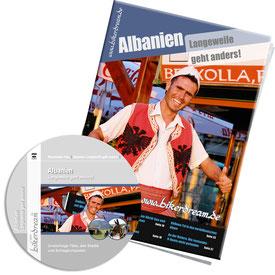 Motorradtour Albanien DVD gedruckte Tourstory und GPS Daten für die eigene Tourplanung mit dem Motorrad