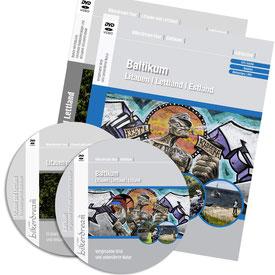 Motorradtour Baltikum Litauen Lettland DVD und GPS Daten für die eigene Tourplanung mit dem Motorrad