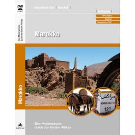 Motorradtour Marokko DVD und GPS Daten für die eigene Tourplanung mit dem Motorrad
