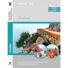 Motorradtour Kroatien DVD und GPS Daten für die eigene Tourplanung mit dem Motorrad