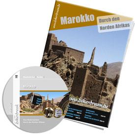 Motorradtour Marokko DVD gedruckte Tourstory und GPS Daten für die eigene Tourplanung mit dem Motorrad