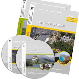 Motorradtour Andalusien und spanische Pyrenäen DVD und GPS Daten für die eigene Tourplanung mit dem Motorrad